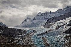 Glacier and Nangpa La in the distance. by eriktorner, via Flickr
