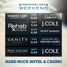 memorial day party las vegas