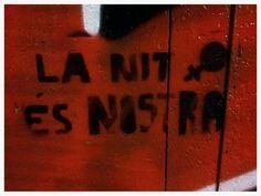 Street art. Raval. Barcelona. Maudéa