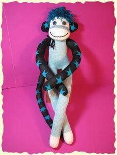 Sock Monkey Madness on Pinterest | Sock Monkeys, Monkey and Sock ...