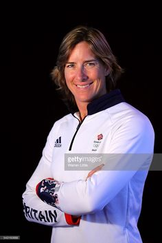News Photo : A portrait of Katherine Grainger a member of the...