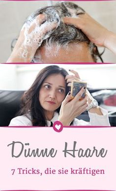 So werden dünne #Haare gestärkt und sie bekommen mehr Volumen. #pflege #beauty #schönheit