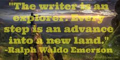 The Writer Is an Explorer Writing Quotes, Blog Writing, In Writing, Being There For Someone Quotes, Graphic Quotes, Quote Posters, My Passion, Great Quotes, Cool Words