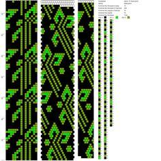 Схемы. Вязание жгутов из бисера. | VK