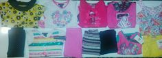 New Tags Little girls sz 4 Yellow Pink & Black 12 pc mix clothing lot #BabyPhatBusterBrown #DressyEverydayHoliday