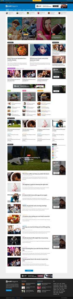 Herald – News Portal & Magazine WordPress Theme