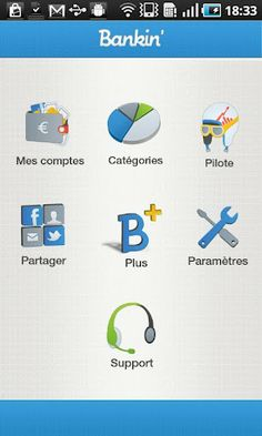 5 outils de finance personnelle sous Android inclus Bankin, Linxo source: Android MT