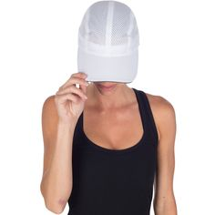 Women's Race Day Running Cap - white by TrailHeads