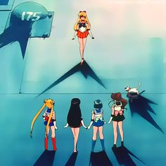 Sailormoon. Episode 33: The Last Sailor Senshi! Sailor Venus Appears. Inner Solar System Senshi.