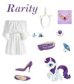 Designer Clothes, Shoes & Bags for Women Rarity, My Little Pony, American Girl, Friendship, Magic, Doll, Shoe Bag, Polyvore, Stuff To Buy