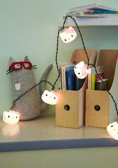 Hello Kitty lights. Awwwwwe!!