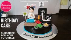 How to make happy birthday husband boyfriend male friend brother bhaiya son him men birthday cake man on yoga mat loves e bike green tea maggi vinyl rec. Happy Birthday Brother Cake, 30th Birthday Cakes For Men, Birthday Cake Video, Soccer Birthday Cakes, Birthday Cake Gift, Birthday Cake For Boyfriend, Unique Birthday Cakes, Special Birthday Cakes, Boyfriend Cake