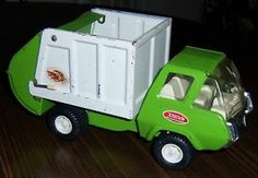 Vintage Lime Green TONKA Litter Bug GARBAGE TRUCK 1970's