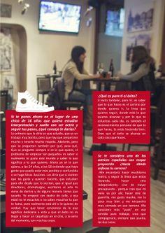 Pág 6 de la entrevista a Ana Rujas de Gaman Magazine#1 disponible en http://issuu.com/gamanmagazine/docs/n1_gamanfinal