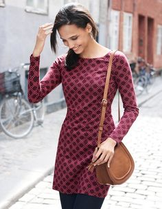 Mia Jersey Tunic WO096 Clothing at Boden