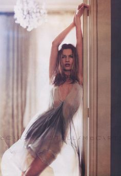 Kate Moss for Stella McCartney Spring 2004 campaign, photographed by Mary McCartney-Donald