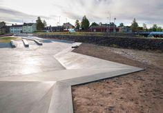 42 Architects, Hyttgårdsparken, skatepark a Falun, Svezia 2012