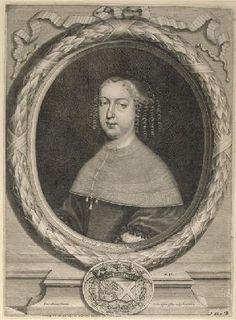 Dame Marie de La Guiche de Saint-Jean, 4ème. Duchesse de Ventadour, Comtesse de La Voulte, Baronne de Cornillon (1623-1701).