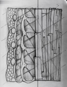 Abstract Prototype Concept Sketch
