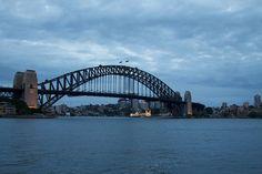 Sydney Harbour Bridge by Paul Hagon, via Flickr