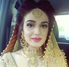 Fulfill a Wedding Tradition with Estate Bridal Jewelry Desi Bride, Desi Wedding, Wedding Bride, Bridal Looks, Bridal Style, Pakistani Bridal Makeup, Bridal Makeover, Asian Bridal, Bridal Collection