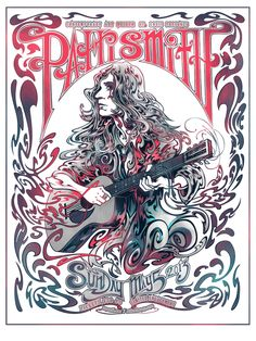 patti smith music gig posters | Patti Smith – St Louis, MO 2013″ by Miles Tsang. 18″ x 24 ...
