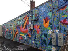 tenango chicken mural, jamaica plain boston ~ Join the Seen Around Boston Facebook group; post your own pics or enjoy our pics in your Facebook feed: https://www.facebook.com/groups/seenaroundboston/
