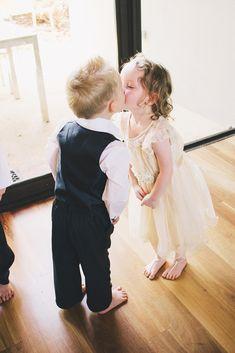 Lovely Photos Of Ring Bearer ★ ring bearer kids kiss benyew Kids Kiss, Wedding Photos, Wedding Day, Flower Girl Dresses, Flower Girls, Cute Kids, Real Weddings, Wedding Inspiration, Wedding Photography