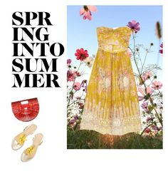 """Sun drops..."" by vrbweb on Polyvore featuring Zimmermann and Cult Gaia"
