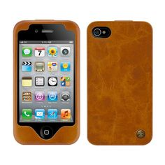 ThinkGeek :: Lux Leather Case For iPhone Futuristic Home, Take My Money, Cool Cases, Gadget Gifts, Cool Gadgets, Leather Case, Gifts For Him, Cool Stuff, Stuff To Buy