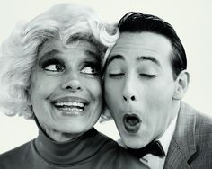 Carol Channing and Pee Wee Herman