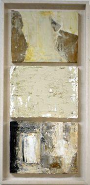 "Saatchi Art Artist Marilina Marchica; Painting, ""small walls (triptych)"" #art"