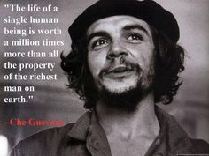 Che Guevara, in his speech to medical students and health workers; Havana, August 20, 1960.