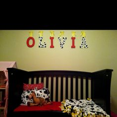 Jessie (Toy Story) inspired toddler room