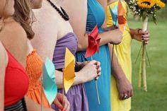 Pinwheels | 9 Non-Floral Wedding Bouquet Alternatives