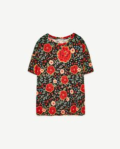 Image 8 of PRINTED T-SHIRT from Zara