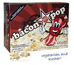 Bacon Popcorn - This is for Christine Bradfield <3