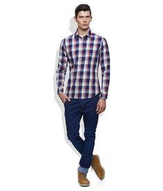 United Colors Of Benetton Blue Casual Shirt Benetton, Get The Look, Casual Shirts, Men Casual, The Unit, Plaid, Colors, Mens Tops, Blue