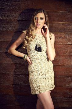 Crochetemoda: Vestido de Crochet ~ Diagrams/Charts Only ~ Not in English