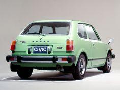 1975 Honda Civic RSL 色が良い