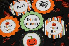 SALE Halloween Printable Collection by Marbella1Printables on Etsy, $7.25