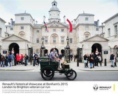 Motor'n | RENAULT'S HISTORICAL SHOWCASE AT BONHAM'S 2015 LONDON TO BRIGHTON VETERAN CAR RUN