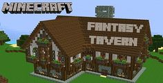 minecraft medieval tavern - Google Search
