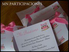 Invitaciones en Sobre Pañal.