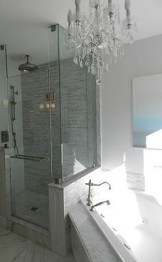 The Master Bath was in desperate need of a face lift from the moment we moved in but the renovation was push off until we could afford to do...