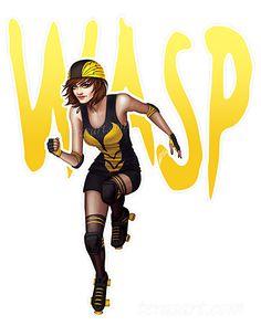 Derby Wasp by Tera Sidebottom