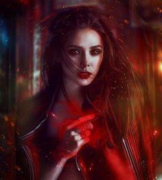 Scarlet witch loves getting naked says elizabeth olsen - Scarlet witch boobs ...