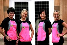 THE FITFARMS FITNESS EXPERTS   Here's a great photo of the 2012 FitFarms.co.uk weight loss boot camp team - http://www.fitfarms.co.uk/health_team.html - posing outside the Somerset fitness retreat. http://www.fitfarms.co.uk/health_team.html  From left to right we have Trisha the exercise and fitness coach, Charlotte the FitFarms fitness camp mentor, Zuzana the assistant health manager who studied at the European fitness school and the weight loss camp manager Gillie who is also a life coach.