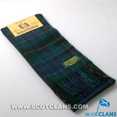 Clan MacInnnes Lambswool Scarf