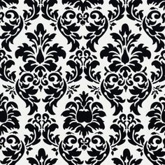Black and White Damask Wallpaper - Bing images Damask Decor, Damask Stencil, Damask Wallpaper, Stencil Patterns, Damask Patterns, Wallpaper Samples, Scrapbook Paper, Scrapbooking, White Damask